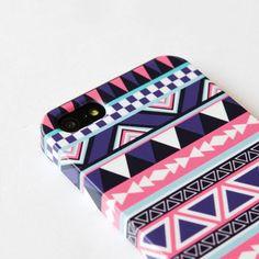 iphone 5 case - Tribal Aztec Geometric Case , iphone 4 case  iphone 4s case , iphone cover , Hard Plastic Case