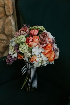 A Wedding Bouquet Inspired By French Couture Made Freesia Designs