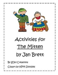 Activities for The Mitten by Jan Brett