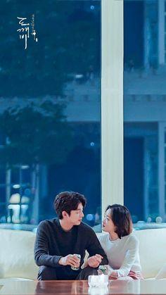Goblin Korean Drama, Korean Drama List, Korean Drama Movies, Korean Actors, Korean Dramas, Gong Yoo, Goblin Wallpaper Kdrama, Kim Go Eun Goblin, Goblin The Lonely And Great God