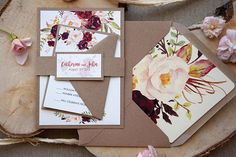 This invitation is a SAMPLE. CUSTOM ORDERS ---> Please, contact me by etsy conversation. ----------- This invitation is a piece of Rustic Chic Floral Wedding Invitation with Watercolor Flowers. Inspired for Rustic Weddings, Boho Weddings, Country Weddings and Fall Weddings. Your