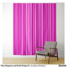 Thin Magenta and Pink Stripes Pattern Tapestry - pink gifts style ideas cyo unique Tapestry Pink, Tapestry Bedroom, Wall Tapestry, Girly Gifts, Pink Gifts, Pink Stripes, New Room, Home Gifts, Magenta