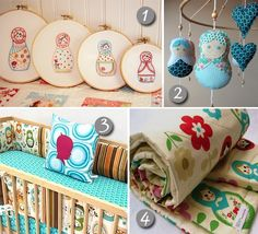 Nursery Decor :: Matryoshka Dolls, Babushkas  or Russian Stacking Dolls :: Whatever you call them, the answer is always YES!