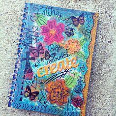 Scrap Happy Hippie: Art Journal Cover