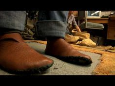 Video on how to make leather shoes from scratch in a day... thanks Trackers