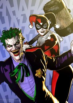 DC Universe: The Joker and Harley Quinn - artist? *