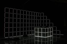 BBC 1Xtra — Jason Bruges Studio Fluorescent Lamp, Colour Field, Lighting System, Bruges, Bbc, Backdrops, Studio, Fluorescent Tubes, Studios