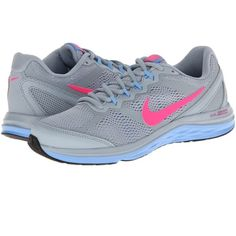 Nike Dual Fusion Run 3 women's Only worn once ,beautiful colors! Nike Shoes Athletic Shoes
