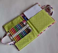 (9) Name: 'Sewing : Craft and Crayon case