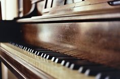 piano's make me think of my mom. i really  love playing the piano.