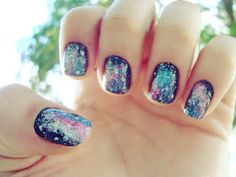 Another Girl Another Planet | Paloma Martins: Tutorial: Galaxy nail art