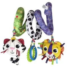Lamaze Activity Spiral On-The-Go Developmental Toy
