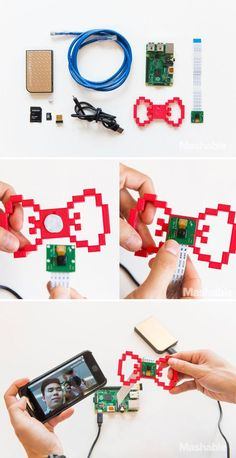 Raspberry Pi 2: How to build a 3D-printed bow tie spy camera