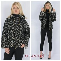Dantelli önü fermuarlı kısa paltomuz için www.asecret.com.tr ziyaret edin