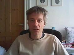 """1. video in english, with this theme """"What disorder and suffering basically is…"""