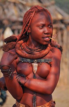 African tribe women making love