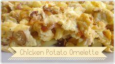 Chicken Potatoes, Omelette, Cauliflower, Vegetables, Recipes, Food, Omelet, Cauliflowers, Recipies