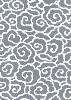 手拭い 雲文様 Japanese pattern