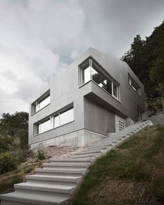 Leibal: Single Family Home by Andreas Fuhrimann Gabrielle Hächler Architects