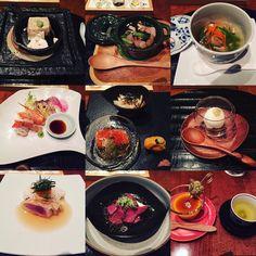 First michelin star restaurant  #kaiseki #foodie by ahhhjai