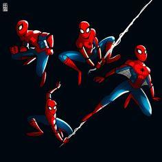 Spider-Man Homecoming art by @phernandezart