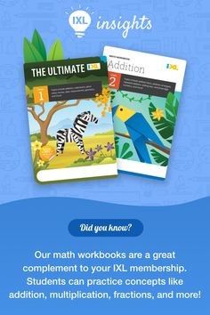 IXL's math workbooks are a great way for children to practice offline and solidify their understanding of key math concepts! View them all on Amazon #TeacherTip Summer Activities, Math Activities, Ixl Math, 12th Maths, Math Workbook, Math Concepts, Teacher Hacks, Fun Learning, Summer Fun