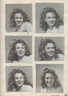 "1945 Andre' De Dienes photographer.  ""Beach Sitting Green Sweater"" Agenda p14,""Malibu California.  Image 59-62"