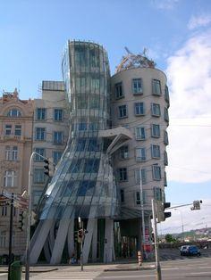 Prague - Ginger e Fred (the dancing house) - Jiraskovo Nam