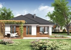 Advice, formulas, and also quick guide in the interest of acquiring the most ideal result as well as ensuring the optimum use of Modern Home Renovation Village House Design, Village Houses, Model House Plan, House Plans, House Front, My House, Modern Bungalow House, Bungalow Exterior, Small Modern Home