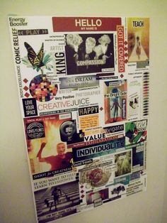 This is my #visionboard  Chris Cromwell 2013