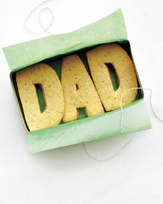 Make Dad Sugar Cookies, Father's Day