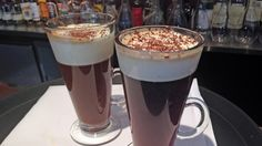 Irish coffee og Elg i soloppgang Cold Drinks, Beverages, Irish Coffee, French Press, Milkshake, Smoothies, Coffee Maker, Food And Drink, Eat