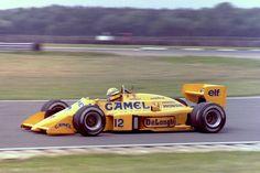 Ayrton Senna - tyre test(1987)