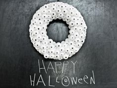 10 DIY Halloween Wreaths: http://www.hgtv.com/handmade/10-creep-tastic-halloween-wreaths/pictures/index.html?soc=pinterest