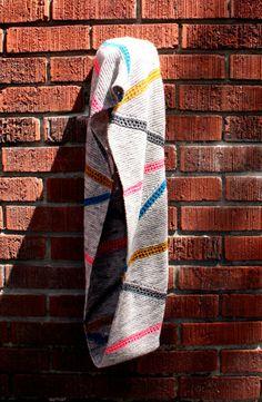 knit infinity scarf #pattern