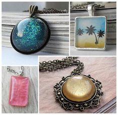 Entremeios longos para bijuterias com personalidade + Tutorial com resina e molde de silicone.