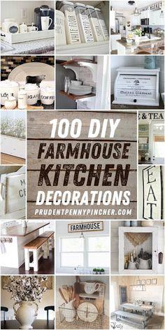 Farmhouse Kitchen Diy, Farmhouse Design, Rustic Kitchen, Diy Kitchen, Rustic Farmhouse, Farmhouse Style, Kitchen Ideas, Country Kitchen, Kitchen Design