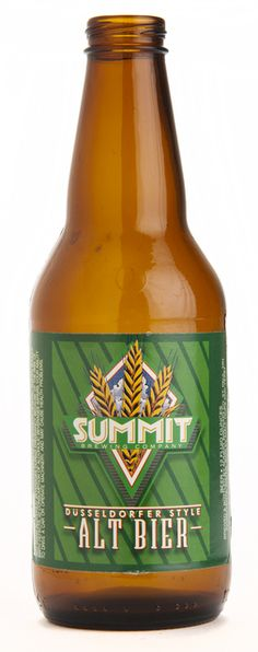 Summit Alt Bier beer bottle, created 1995, MHS