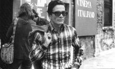 pasolini | ... bortolussi | Centro Studi Pier Paolo Pasolini Casarsa della Delizia Pier Paolo Pasolini, Minimalist Design, Mens Sunglasses, Cinema, Men Casual, Author, Culture, Film, Mens Tops