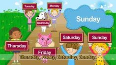 What day is it today? - It's Monday. - English song for Kids - Let's sin...