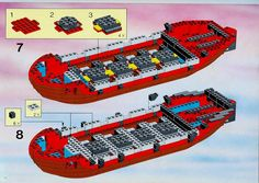 Thousands of complete step-by-step printable older LEGO® instructions for free. Here you can find step by step instructions for most LEGO® sets. Lego Instructions, Step By Step Instructions, Black Mode, Lego Pirate Ship, Lego Group, Lego Sets, Legos, Pirates, Lego Games