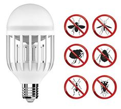 Bug Zapper Light Bulb with LED light bulb, Fly Killer Mosquito Zapper, Mosquito Trap, Bug Zapper, Mosquito Killer Machine, Decks And Porches, Backyard Patio, Bugs, Light Bulb, Invitations