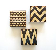 Art Block Trio/3/Three 5x5  Mix and Match FREE by redtilestudio, $85.00