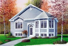 House Plan 65264 | Victorian    Plan with 991 Sq. Ft., 2 Bedrooms, 1 Bathrooms