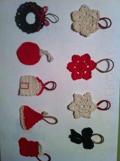 Decoración navidad christmas de ganchillo crochet. Ana Corberán