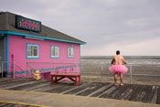 Photographer, Bob Carey's Self-Portraits in Ballet Skirt Are Weapons in His Wife's Breast Cancer Battle.  Way to go Bob!!!