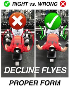 Dumbbell Decline Flyes (head down): features, technique, video! Now our cool workouts you can watch in the video format. Subscribe! The Dumbbell Decline Flyes (head down) refers to the number of isolated exercises for pumping the pectoral muscles, and in particular, the lower region of the chest. This exercise can also be called – dilution of dumbbells …