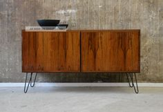60er Omann Jun Palisander Sideboard Kommode Danish Modern 60s Rosewood Cabinet 1960-1969 Bild