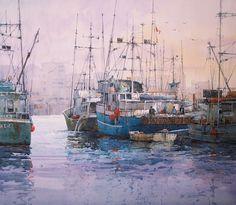 Fisherman's Wharf, Victoria, British Columbia
