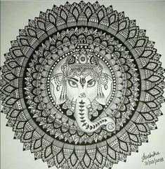 Lord Ganesh mandala